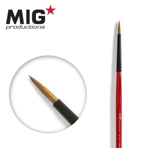MIG Productions - Marta Kolinsky Modelling Brush - 1