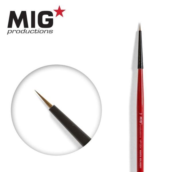 MIG Productions - Marta Kolinsky Modelling Brush - 10/0