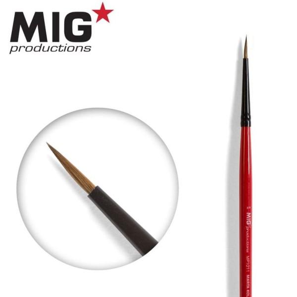 MIG Productions - Marta Kolinsky Modelling Brush - 3/0