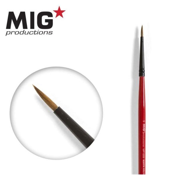 MIG Productions - Marta Kolinsky Modelling Brush - 5/0