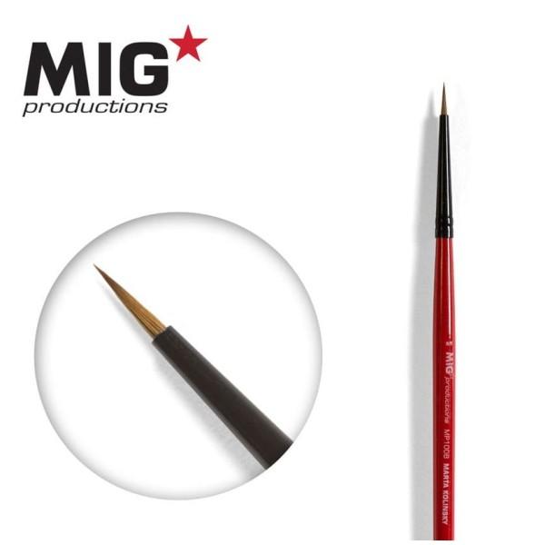 MIG Productions - Marta Kolinsky Modelling Brush - 6/0