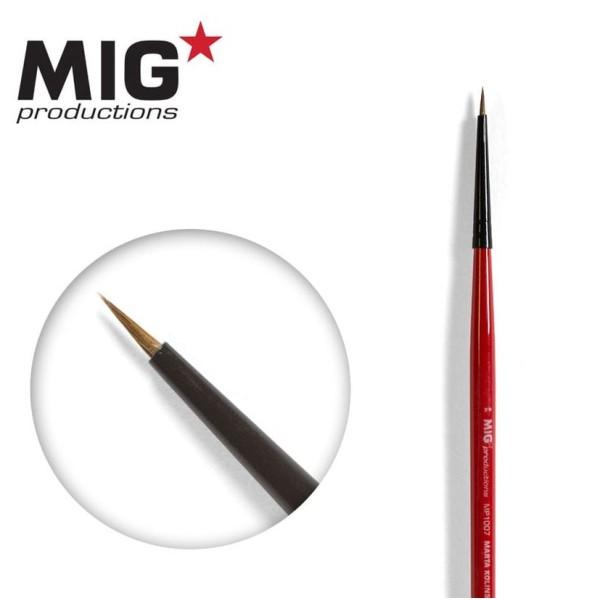 MIG Productions - Marta Kolinsky Modelling Brush - 7/0