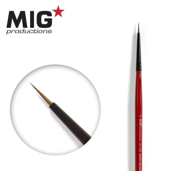 MIG Productions - Marta Kolinsky Modelling Brush - 8/0