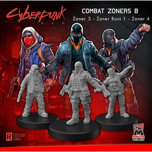 Cyberpunk Red Miniatures - Zoners B - PUNKS