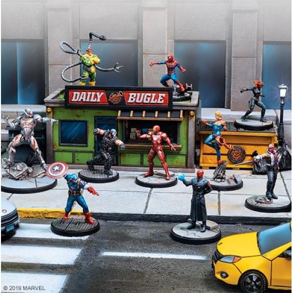 Marvel - Crisis Protocol - Miniatures Game - Core Set