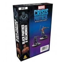 Marvel - Crisis Protocol - Miniatures Game - Black Panther and Killmonger Expansion