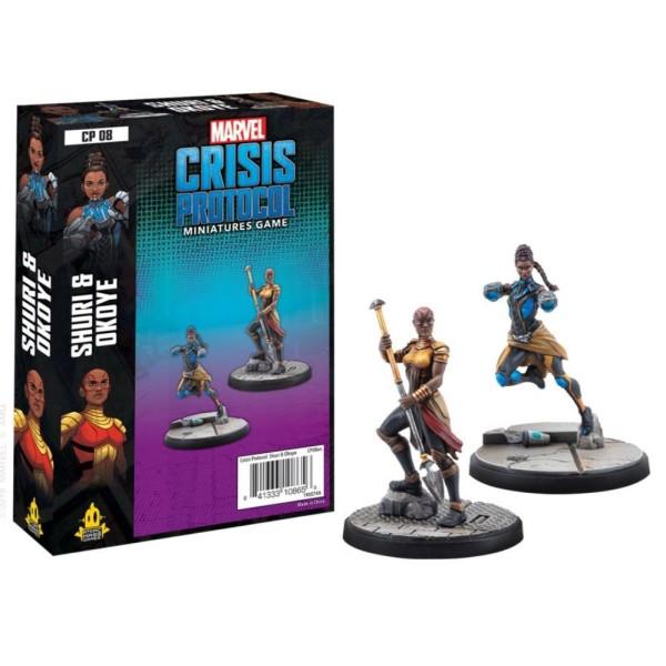 Marvel - Crisis Protocol - Miniatures Game - Shuri and Okoye Expansion