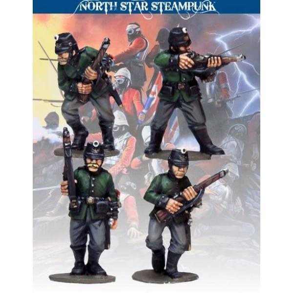 North Star Steampunk Miniatures - Jägers Elite Prussian Infantry