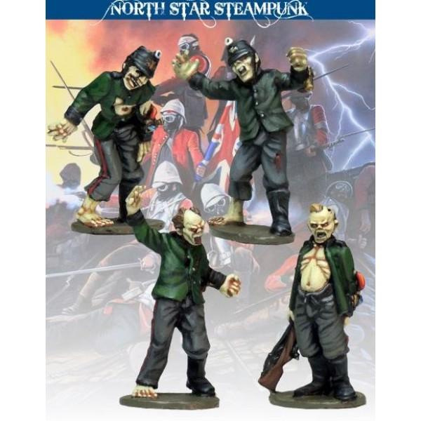 North Star Steampunk Miniatures - Zombie Jägers