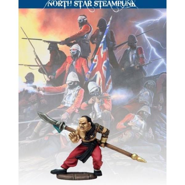 North Star Steampunk Miniatures - Tong Warrior