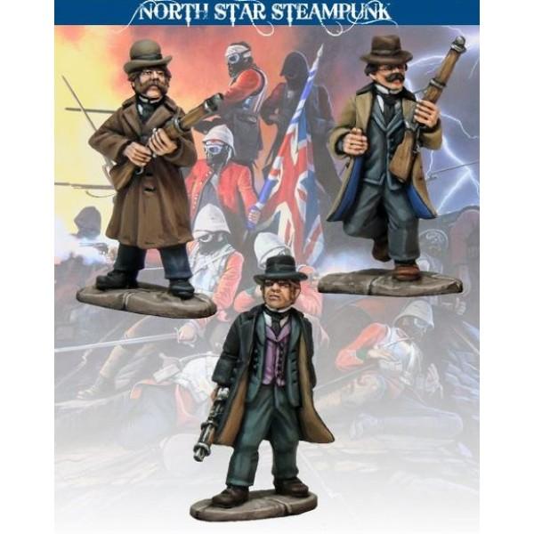North Star Steampunk Miniatures - Special Branch