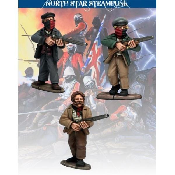 North Star Steampunk Miniatures - Anarchists with Shotguns