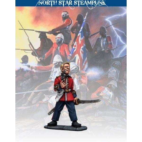 North Star Steampunk Miniatures - Captain (unarmoured)