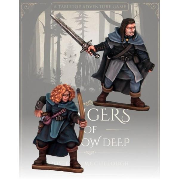 Rangers of Shadow Deep - Blood Moon Companions - Covin and Orla