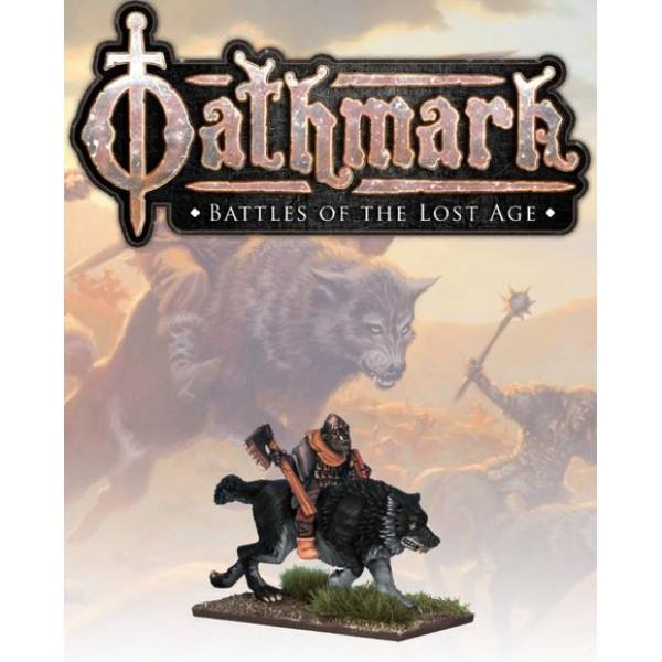 Oathmark - Goblin Wolf Rider - Champion 1