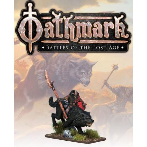 Oathmark - Goblin Wolf Rider - Champion 2