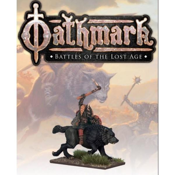 Oathmark - Goblin Wolf Rider - Champion 3