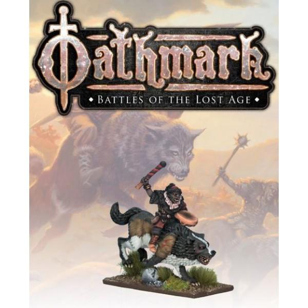 Oathmark - Goblin Wolf Rider - Musician