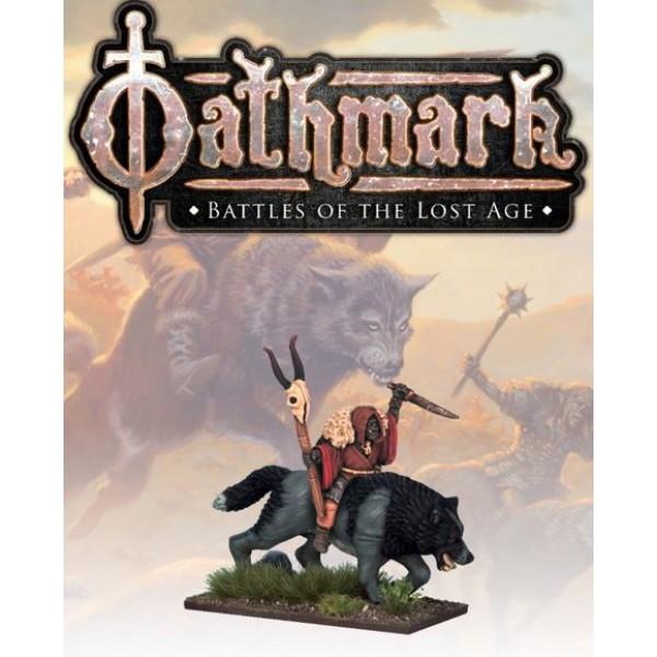 Oathmark - Goblin Wolf Rider - Shaman