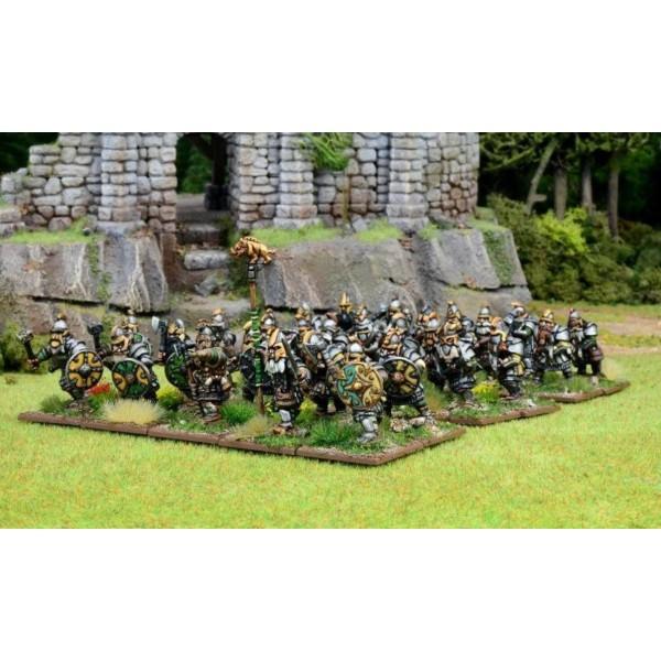 Oathmark - Dwarf HEAVY Infantry - Plastic Boxed Set