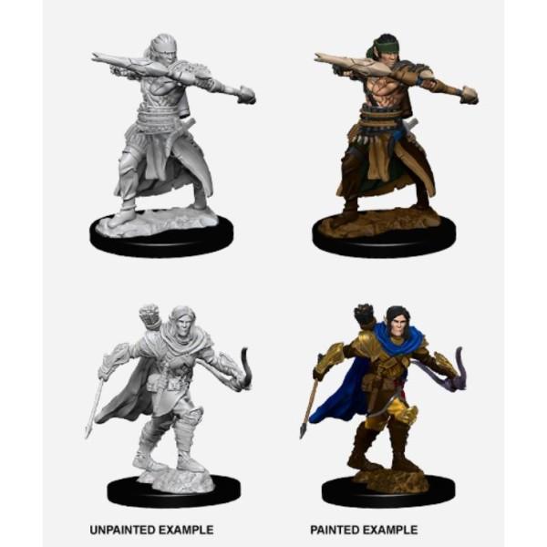 Pathfinder - Deep Cuts Unpainted Miniatures: Half-Elf Male Ranger