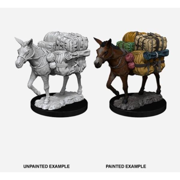 Pathfinder - Deep Cuts Unpainted Miniatures: Pack Mule