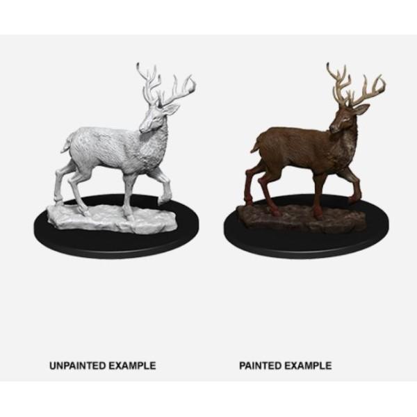 Pathfinder - Deep Cuts Unpainted Miniatures: Stag