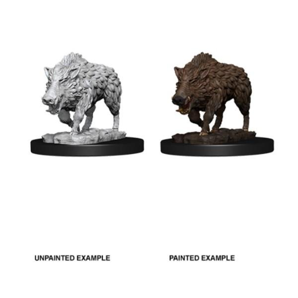 Pathfinder - Deep Cuts Unpainted Miniatures: Wild Boar