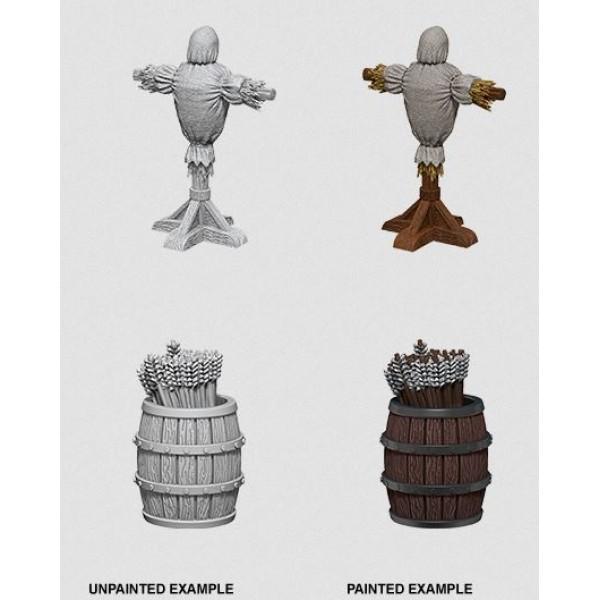 Pathfinder - Deep Cuts Unpainted Miniatures: Archery Range