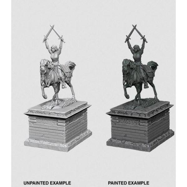 Pathfinder - Deep Cuts Unpainted Miniatures: Heroic Statue