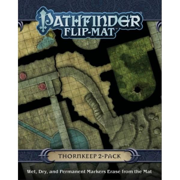 Pathfinder RPG - Flip Mat - Thornkeep Dungeons 2-Pack