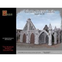 Pegasus Hobbies - Gothic City Building - Small Set 1