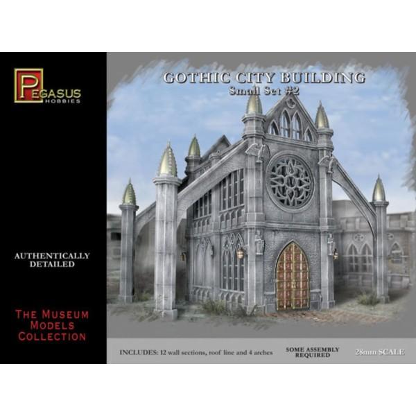Pegasus Hobbies - Gothic City Building - Small Set 2