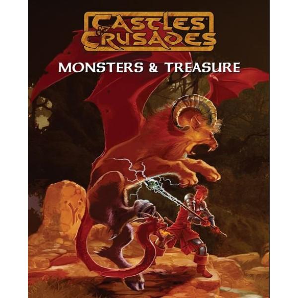 Castles & Crusades RPG - Monsters and Treasure - Complete Hardback Supplement