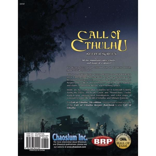 Call of Cthulhu RPG - Keeper Screen Pack