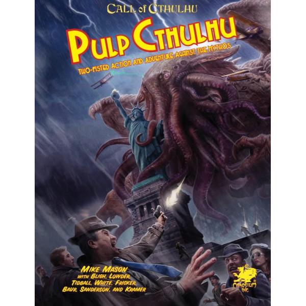 Call of Cthulhu RPG - Pulp Cthulhu HC