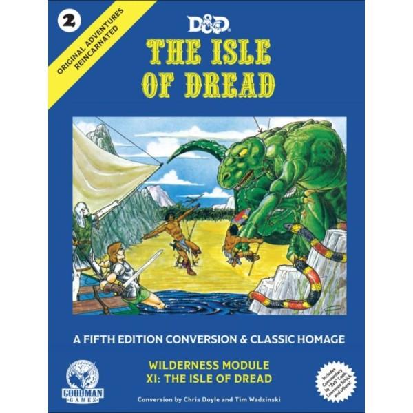 Goodman Games - Fifth Edition Fantasy - Original Adventures #2 Reincarnated - The Isle of Dread