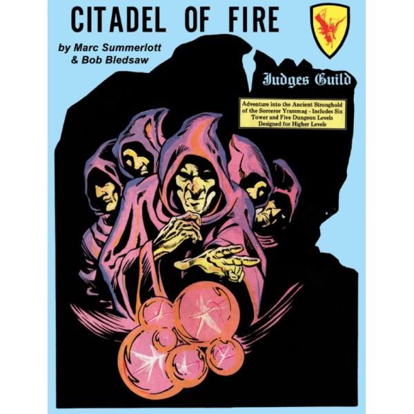 Goodman Games - Judges Guild Classic Reprint: Citadel of Fire (1E Adventure)