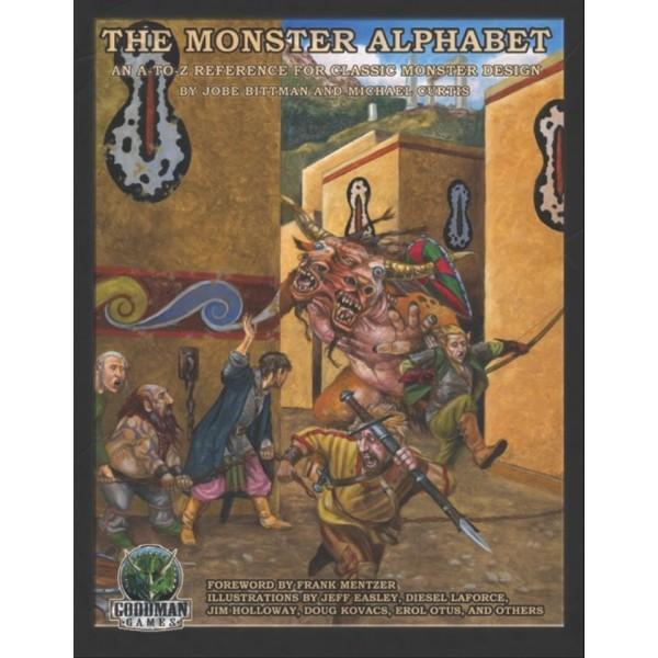 Goodman Games - The Monster Alphabet: (System Neutral Sourcebook)