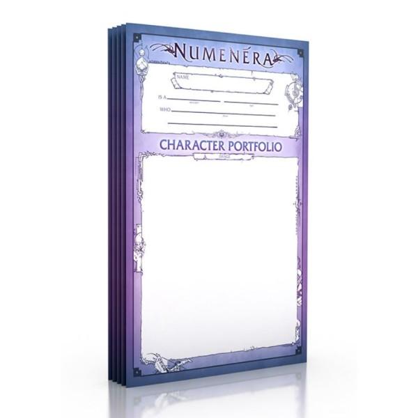 Numenera - Character Portfolios (5)