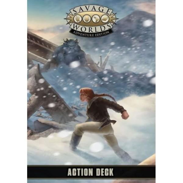 Savage Worlds RPG - Adventure Edition - Action Deck