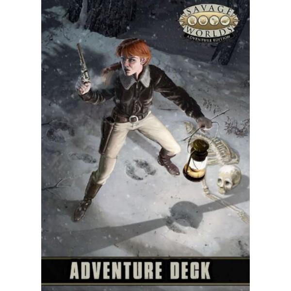 Savage Worlds RPG - Adventure Edition - Adventure Deck