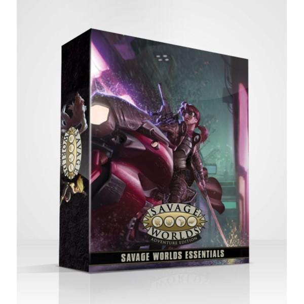 Savage Worlds - Adventure Edition - Essentials Boxed Set