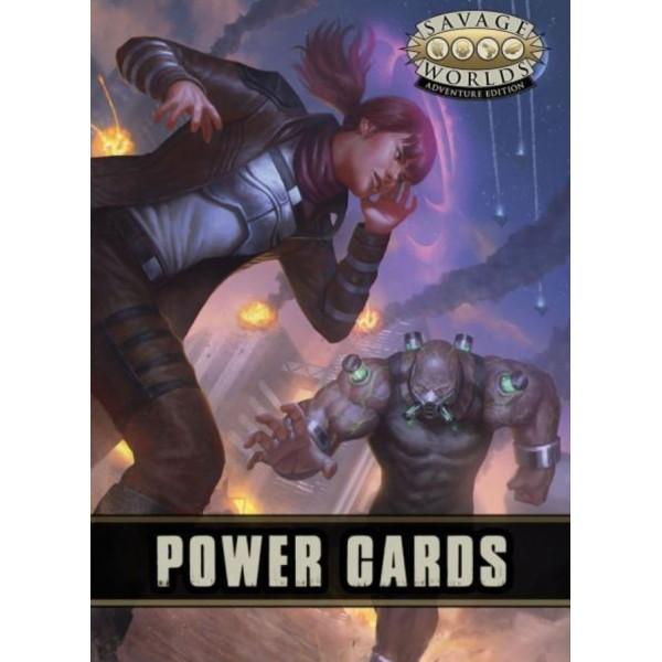 Savage Worlds RPG - Adventure Edition - Powers Cards