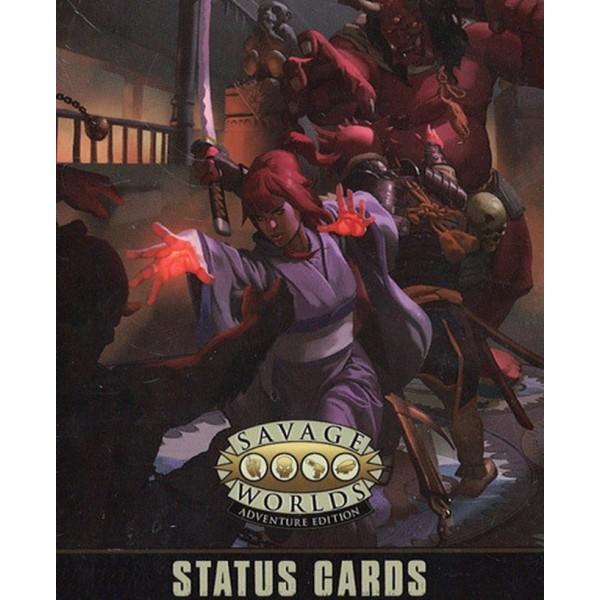 Savage Worlds RPG - Adventure Edition - Status Cards