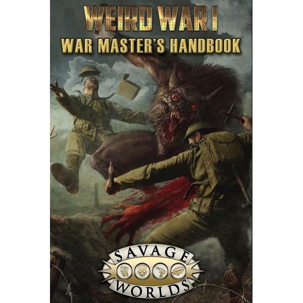 Savage Worlds RPG - Weird War I - War Masters Handbook (Limited Edition)