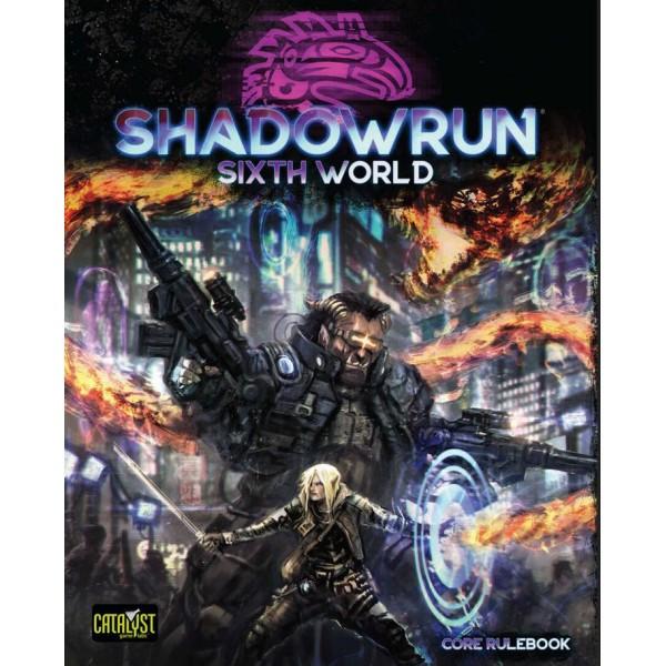 Shadowrun - 6th Edition - Core Rulebook