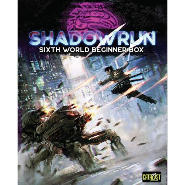 Shadowrun - 6th Edition - Sixth World Beginner's Box