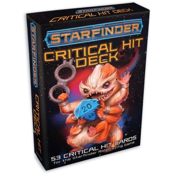 Starfinder RPG - Critical Hit Deck
