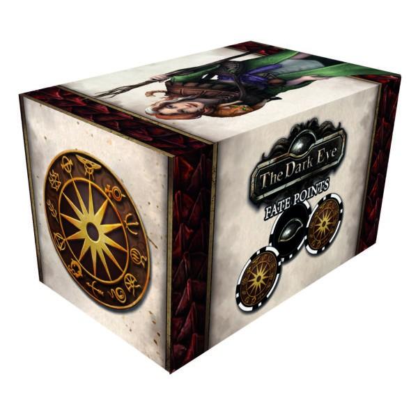 The Dark Eye - Fantasy RPG - Fate Point Set